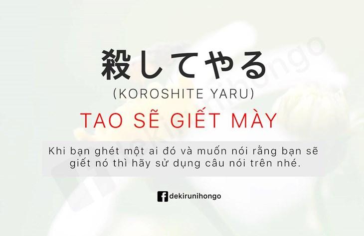 Những từ ngữ thường ngày trong tiếng Nhật - ảnh 6