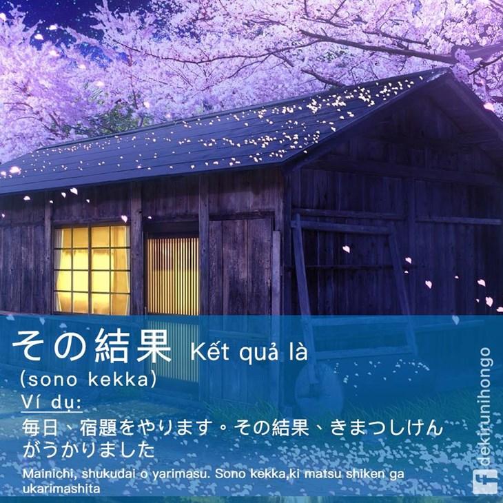 Từ nối câu trong giao tiếp tiếng Nhật - ảnh 10