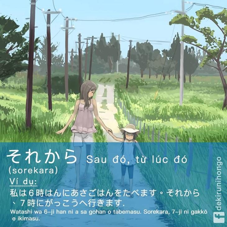 Từ nối câu trong giao tiếp tiếng Nhật - ảnh 9