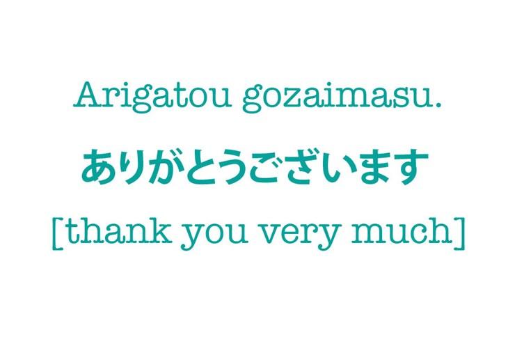 Cách nói cảm ơn và xin lỗi trong tiếng Nhật - ảnh 1