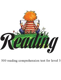 読解テスト3級レベル500 - 500 reading comprehension test for level 3