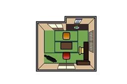 Kiến trúc trong ngôi nhà