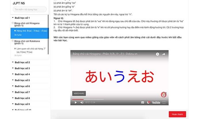 3 Website học tiếng Nhật tốt nhất dành cho người tự học tiếng Nhật - ảnh 8