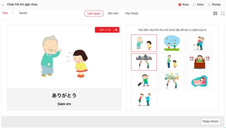 10 bộ từ vựng tiếng Nhật cơ bản - ảnh 2