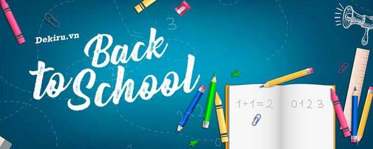 Back to school – Học tiếng Nhật cùng với Dekiru