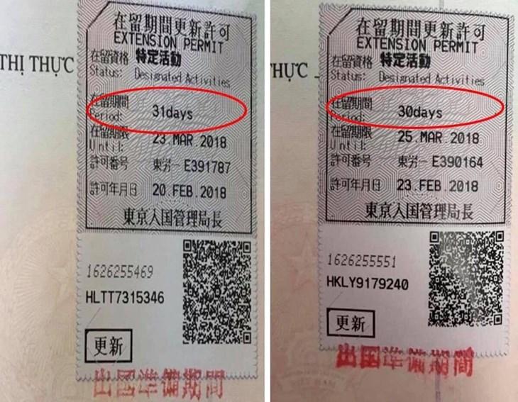 Visa chuẩn bị về nước sự khác biệt giữa 30 ngày và 31 ngày - ảnh 1