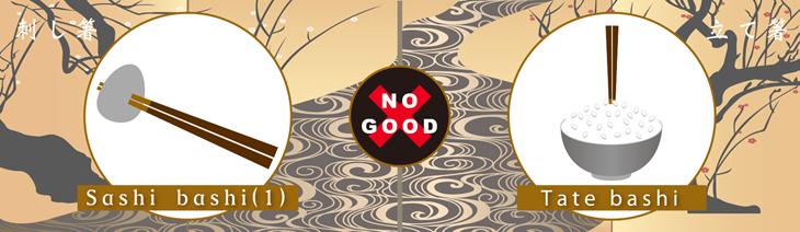 10 Điều cấm kỵ khi sử dụng đũa tại Nhật Bản - ảnh 2