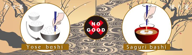 10 Điều cấm kỵ khi sử dụng đũa tại Nhật Bản - ảnh 8