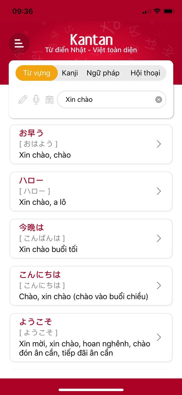 Từ điển Kantan - Song ngữ Việt Nhật hàng đầu Việt Nam - ảnh 1