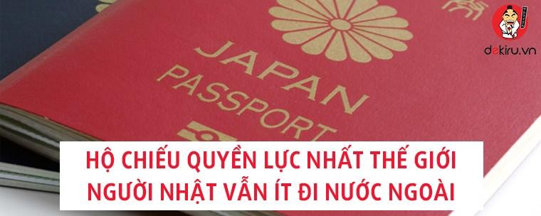 """Nổi tiếng """"hộ chiếu quyền lực nhất thế giới"""" nhưng người Nhật vẫn ít đi nước ngoài"""
