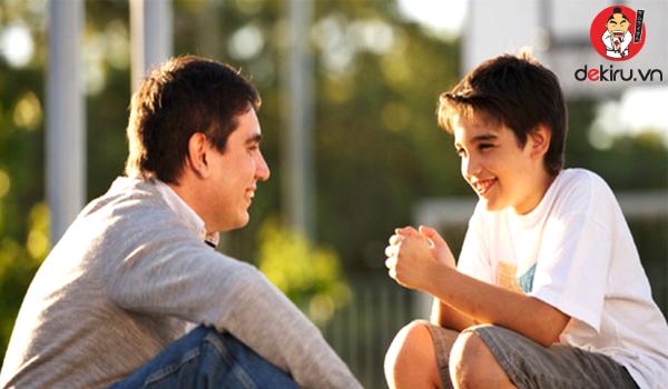 Bố mẹ - con cái là mối quan hệ thân thiết