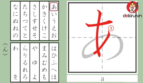 Nhiều học viên khi bắt đầu học tiếng Nhật xuất hiện tâm lý ngại học bảng chữ Hiragana