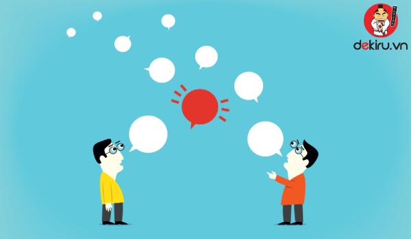 Khi nói, không nên lên giọng ở trợ từ quá thường xuyên