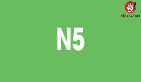 Một trong những mẹo đạt điểm cao ở đề thi N5 đó là ôn luyện từ vựng