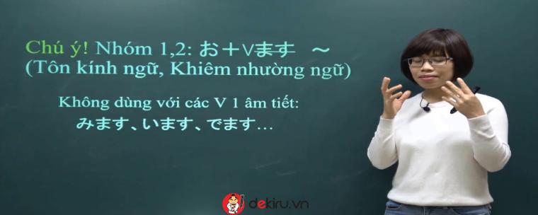 Lưu ý sử dụng kính ngữ trong tiếng Nhật hợp ngữ cảnh