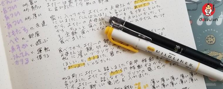 Một tuần học được bao nhiêu từ kanji? Cách học kanji 2000 từ/ 2 tuần