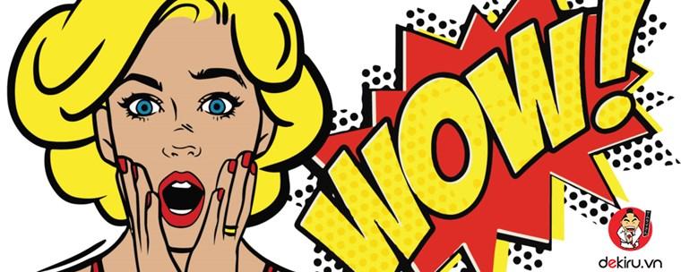 10 từ vựng tiếng Nhật theo chủ đề thể hiện sự ngạc nhiên