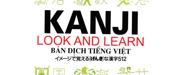 Review sách Kanji Look and Learn